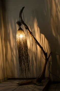 Lamps Of Natural Material #lamps #greendesign
