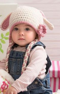Sweet Bunny Hat freebie, thanks so xox  ☆ ★  https://www.pinterest.com/peacefuldoves/