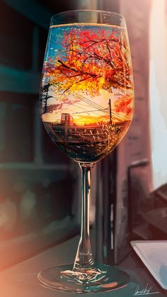 Autumn in the glass drink wallpaper ~ Mobile wallpapers hd, free Mobile backgrounds Cute Wallpaper Backgrounds, Pretty Wallpapers, Galaxy Wallpaper, Beautiful Nature Wallpaper, Galaxy Art, Anime Scenery, Belle Photo, Aesthetic Wallpapers, Fantasy Art