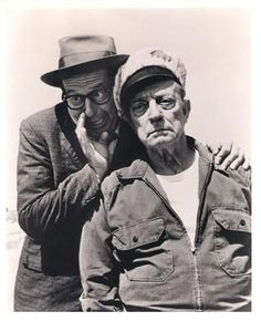 Phil Silvers and Buster Keaton