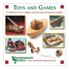 Woodworker's Journal Toys and Games CD. Perfect for building holiday gifts!