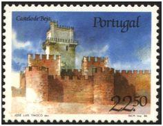 Selos - Afinsa nr 1751 - Scott nr 1663. - Castelo de Beja