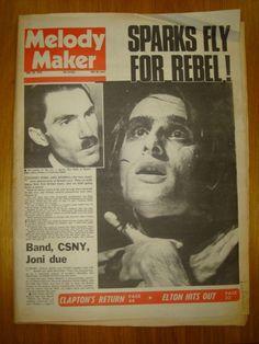 Melody Maker.  June 1974. Steve Harley, Press Release, Rebel, June