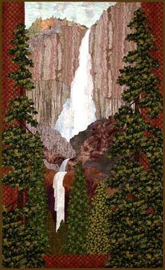 Yosemite Falls Pattern by Helene Knott