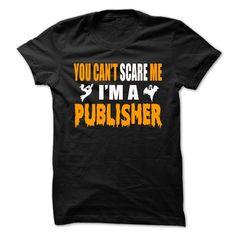 Halloween Tshirt For Publisher T-Shirts, Hoodies. GET IT ==► https://www.sunfrog.com/Holidays/Halloween-Tshirt-For-Publisher.html?id=41382