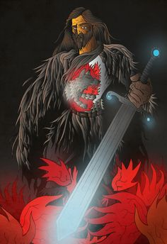 Lord Eddard Stark by ~acazigot on deviantART
