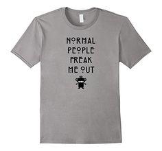 Men's Normal People Funny Geek T-Shirt 3XL Slate Jimmo Shirts