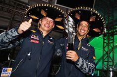 Daniel Ricciardo, Max Verstappen, Formule 1 Grand Prix van Mexico 2016, Formule 1