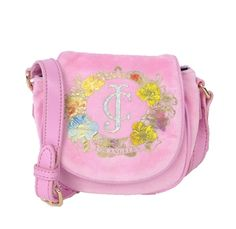 Juicy Couture Girl's Iconic Velour Mini Crossbody, Soft Hush Pink Sale Price $50 + Free Shipping!