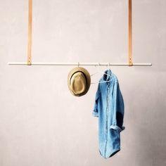 Kleiderstange Aufhängung grau von Ferm Living von Ferm Living