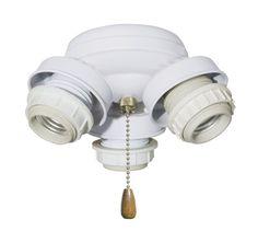 Emerson F330 3 Light Turtle Fitter Ceiling Fan Light Kit