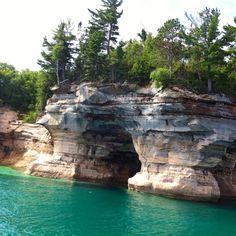 Pictured Rocks, Northern Michigan