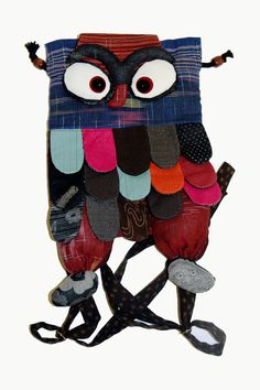 Owl Backpack- hand made by persecuted Christians- all preceeds go to the cause. Visit this site and see what else you can find- great idea for Christmas gifts- the gift that gives twice! Spread the word!