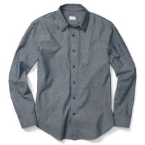 Artem Indigo casual shirt, Club Monaco - for those summer evening dinners