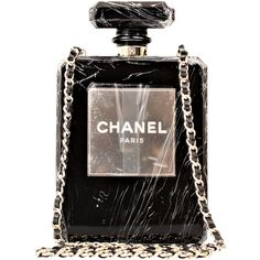 Pre-Owned Chanel Black No. 5 Perfume Bottle Runway Evening Bag (18,422,445 KRW) ❤ liked on Polyvore featuring jewelry, necklaces, bags, chanel, perfume, accessories, clutches, black, multi color jewelry and multicolor necklace