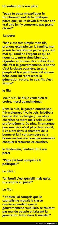 Un enfant dit à son père... - RIGOLOTES.fr