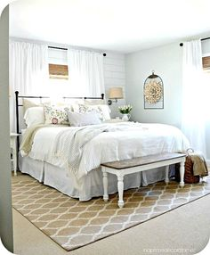 53 Beautiful Urban Farmhouse Master Bedroom Remodel | Beautiful ...