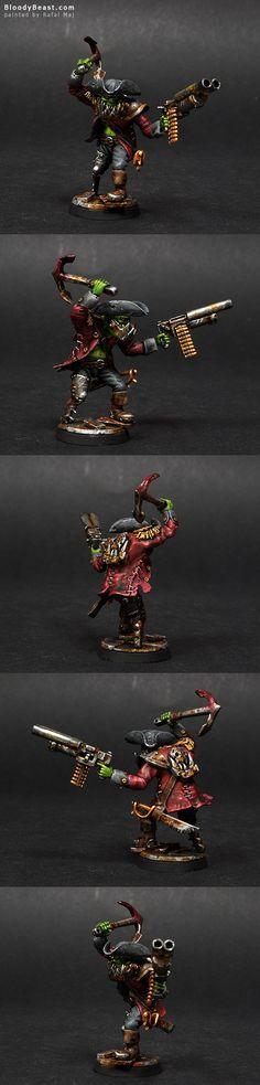 Goblinaid Freebooter Ork Nob