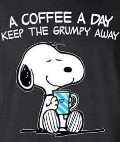 Love my coffee.I'm going to add this to my own snoopy handbag! Peanuts Quotes, Snoopy Quotes, Snoopy Love, Snoopy And Woodstock, Peanuts Cartoon, Peanuts Snoopy, Snoopy Cartoon, Peanuts Comics, I Love Coffee