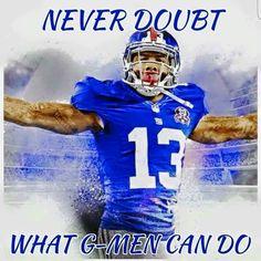 Football Memes, Football Team, Football Season, Beast Of The East, New York Giants Logo, New York Giants Football, Go Big Blue, Odell Beckham Jr, G Man