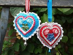 José Crochet: Gratis patronen ~ Free patterns. Who says they have to be xmas ornaments?