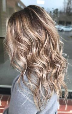 balayage hair color, light brown hair color ideas, hair colours 2019 hair color trends, best hair color for fall hair colors best hair color for hair color ideas for brunettes, Gorgeous Hair Color, Beautiful Blonde Hair, Ombre Hair Color, Gray Ombre, Purple Hair, Blonde Fall Hair Color, Winter Blonde Hair, Fall Hair Colors, Summer Hair Color For Brunettes