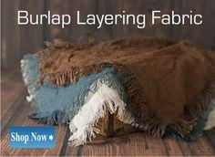 Burlap Layering Fabric