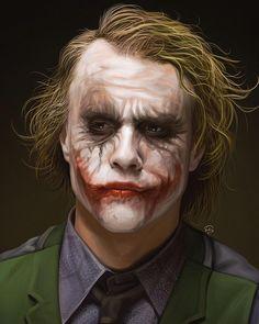 The Joker Heath Ledger Wallpapers Wallpapers) – Art Wallpapers Joker Heath, Heath Ledger Joker Makeup, Le Joker Batman, Der Joker, Joker Art, Joker And Harley Quinn, Joker Ledger, Batman Robin, Joker Images