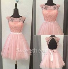 Pink short prom dress,homecoming dresses #prom #promdress #dress #homecoming #formaldress #promdresses