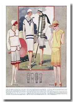 20s Fashion, Retro Fashion, Vintage Fashion, Art Deco Illustration, Illustrations, Mode Vintage, Vintage Ladies, Art Deco Clothing, Vintage Dresses