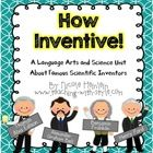 This unit is a perfect blend of science and language arts! Learn about four famous inventors while also practicing reading informational text, taking notes, synthesizing information, and learning about the world! Teaching Social Studies, Teaching Science, Primary Classroom, Future Classroom, Science Ideas, Science For Kids, Ccss Ela, Inventors, Second Grade