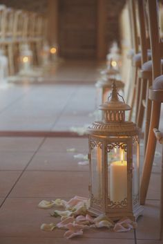 21 Intimate Wedding Ideas Using Candles - wedding ceremony idea; Wedding Ceremony Ideas, Wedding Aisle Decorations, Wedding Lanterns, Wedding Centerpieces, Wedding Aisles, Elegant Centerpieces, Centerpiece Ideas, Wedding Reception, Mod Wedding