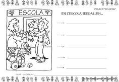 PROJECTE ELS OFICIS - brichi Monferrer - Álbumes web de Picasa Comics, School, Picasa, Pictures, Computer File, Classroom, Cartoons, Comic