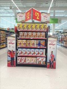 Kellogg's gave a helping hand to their Olympics promotion in Asda with POS Helping Hands, Asda, Pinball, Pos, Olympics, Promotion, Convenience Store, Games, Convinience Store