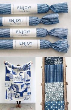 For me inspiration comes in all shapes and forms and today I'm loving these deep and moody shades of blue. Design Textile, Design Floral, Home Textile, Fabric Design, Pattern Design, Packaging Design, Branding Design, Packaging Ideas, Scarf Packaging
