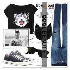 """""""BANGGOOD 2"""" by mini-kitty ❤ liked on Polyvore featuring Converse, Ray-Ban, Tiffany & Co. and Karl Lagerfeld"""