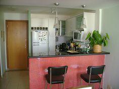 acabamentos para bancadas de cozinha | Cozinhas Simples Com Balcão - Tamanhos e Projetos | Toca da Cotia