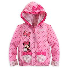 34a6813de Disney Minnie Mouse Jacket for Girls - Pink - Personalizable