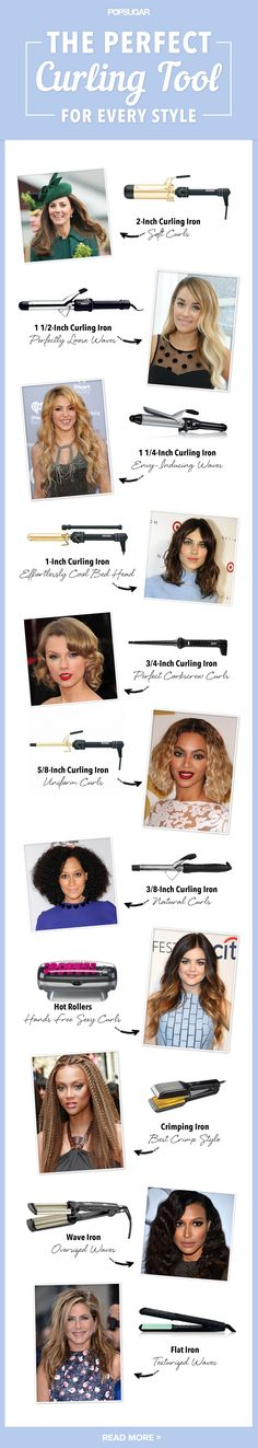Which curling iron is right for your hair type?