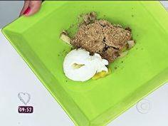 Crumble de frutas - Foto de Mais Você na TV