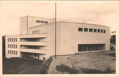 Photographs of Czech and Slovak functionalist architecture International Style, Czech Republic, Prague, Functionalism, Modernism, Gallery, Bobs, Outdoor Decor, Theatre
