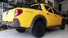 L200 Savana com rodas aro 15 Mitsubishi L200, Vehicles, Cars, Van, Messages, Autos, Car, Car, Automobile