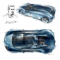 Bugatti unveils Veyron Grand Sport Vitesse Jean-Pierre Wimille Edition http://www.carbodydesign.com/2013/07/bugatti-veyron-grand-sport-vitesse-jean-pierre-wimille-edition/