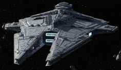 Sith warship by Warmaster367