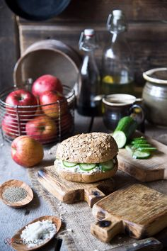 vintage style chopping and serving boards