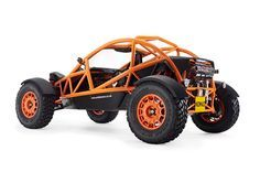 The same guys behind the spectacular Ariel Atom high-performance supercar, have introduced, the outrageously fun-looking, Nomad. The two-seat rugged off-roader is powered by a Honda four-cylinder iVTEC engine, delivering an impressive 235 h Ariel Atom, Ariel Nomad, Kart Cross, Diy Go Kart, Off Roaders, Off Road Buggy, Motorcycle Manufacturers, Motor Company, Cars And Motorcycles