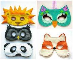Resultado de imagem para máscaras de animais imprimir