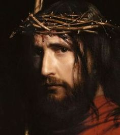 Christ with Thorns - by Carl Bloch 1834-1890