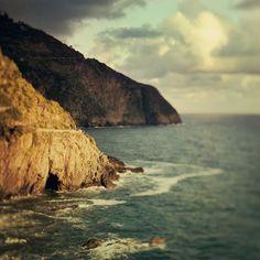 Landscape Photograph, Cinque Terre Coast, Italy, Ocean, Sea, Fine Art Photography - Lost Coastlines