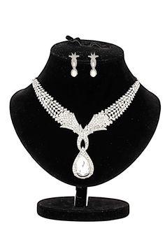 Ethnic Jewels Alloy Jewellery Set For Women.